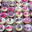 Stock Photo: 40th birthday cupcakes