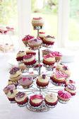 40th birthday cupcakes — Stock Photo