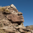 Inca Face — Stock Photo