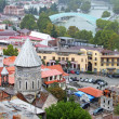 Nice view of Tbilisi, Georgia — Stock Photo