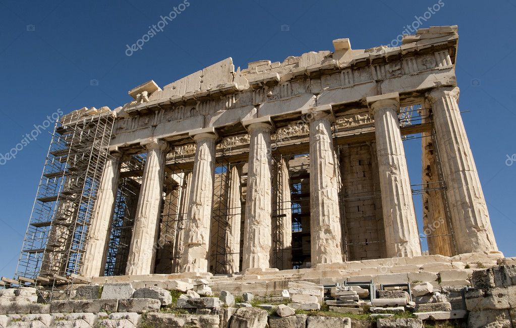 The Parthenon — Stock Photo #5846054