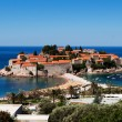 Sveti Stefan (St. Stefan) island in Adriatic sea, Montenegro — Stock Photo