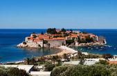 Sveti Stefan (St. Stefan) island in Adriatic sea, Montenegro — Stock Photo