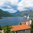 Stock Photo: View of Bay of Kotor, Montenegro