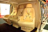 Cabine passagers de l'hélicoptère — Photo