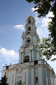 Belfry of the Holy Trinity Sergius Lavra — Stock Photo