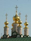 купола православной церкви — Стоковое фото