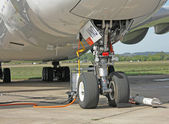 Landing gear — Stock Photo