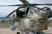 Bojový vrtulník — Stock fotografie
