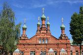Red church — Foto de Stock