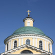 Dome of Orthodox temple complex in Kosino; Moscow — Stockfoto #6615352