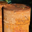 Rusty barrel — Stock Photo