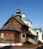 Orthodox temple complex in Kosino, Moscow — Stock Photo
