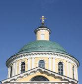 Dome of Orthodox temple complex in Kosino; Moscow — Stock Photo