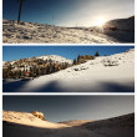 Ski center landscapes — Stock Photo