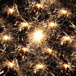 Many sparklers — Foto Stock