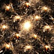 Many sparklers — Stock Photo