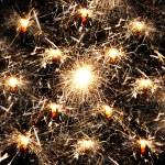 Many sparklers — Stock Photo