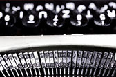 Typing machine abstract — Stock Photo