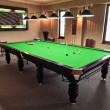 Foto Stock: Snooker table