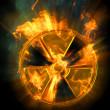 Radiation — Stock Photo