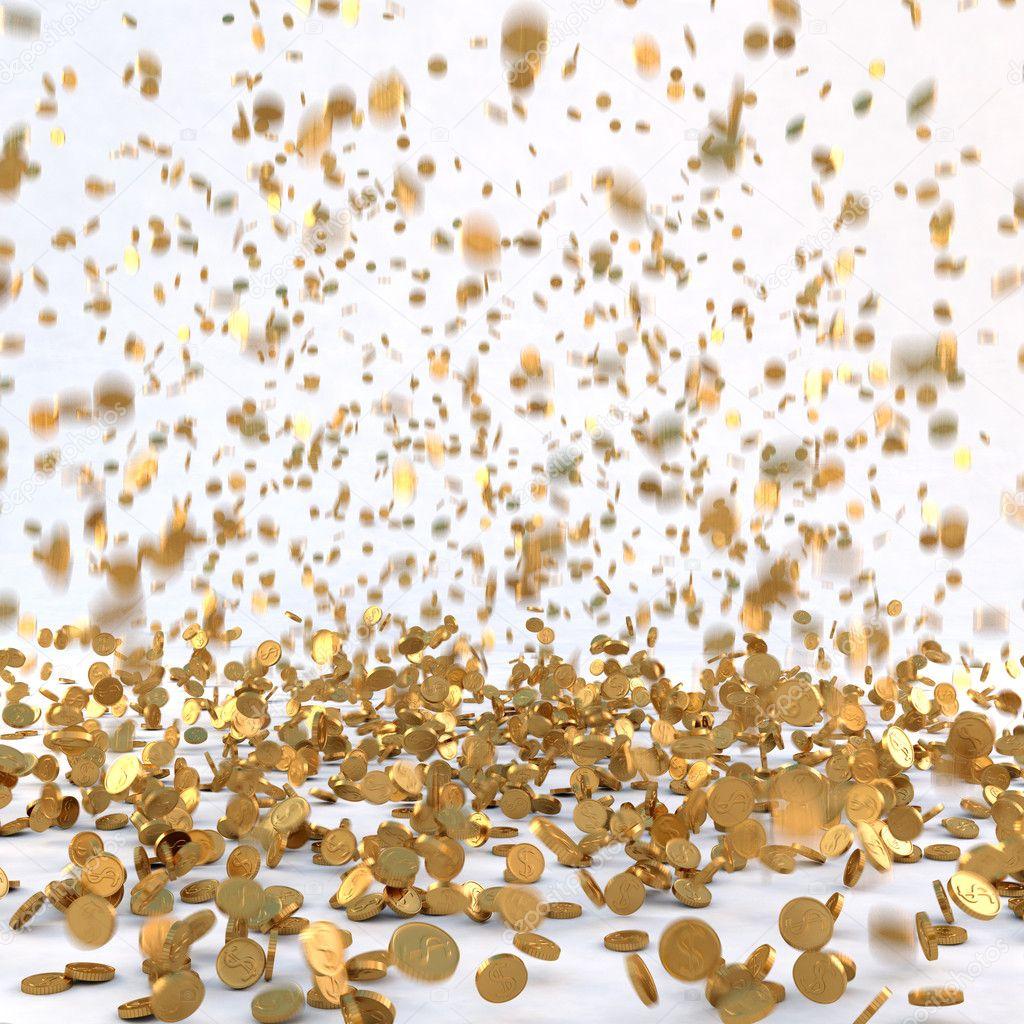 Устроили золотой дождь 3 фотография