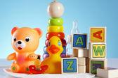 Baby toys — Stock Photo