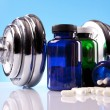 Stock Photo: Fitness supplements
