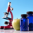 Fitness supplements — Stock Photo