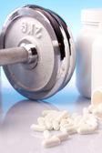 Fitness suplementos — Foto de Stock
