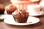 Banana muffins — Stock Photo