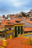 Red roofs in old Porto — Stock Photo