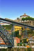 Amazing Dom Luis Bridge in Porto, Portugal — Stock Photo