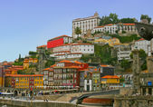 Panorama of famous old Porto in Portugal — Stock Photo