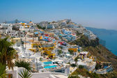 City of Fira in Santorini — Foto de Stock