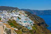 Amazing Fira in Santorini — Stock Photo