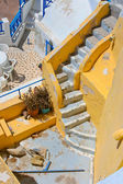 Beautiful empty staircase in Santorini — Foto de Stock