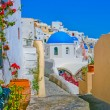 Stock Photo: Magic view of Oiin Santorini