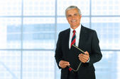 Middle Age Businessman — Stock Photo