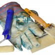 Stock Photo: Painting tools