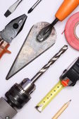 Various hand tools — Foto Stock
