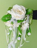Bando de casamento de flores — Foto Stock