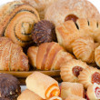 Bakery foodstuffs set — Stock Photo