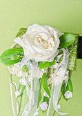 Ramo de novia de flores — Foto de Stock