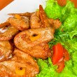 Roasted chicken wings — Stock Photo