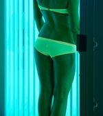 At solarium — Stockfoto
