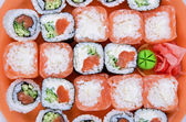 The sushi — Stock fotografie