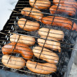 Grilled sausages — Stock Photo #6158162