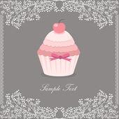 Cupcake design — Stock Vector