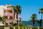 Villa with the garden, Majorca, Spain — Stock Photo